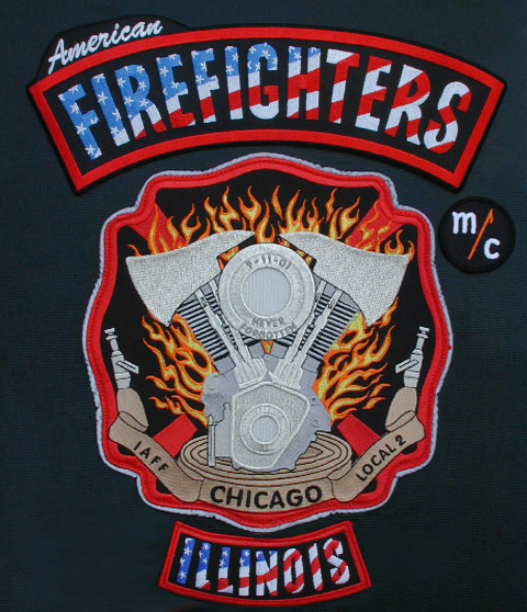 American Firefighters MC Logo